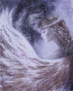 No end, no end to the journey  no end, no end never  how can the heart in love  ever stop opening  if you love me,  you won't just die once  in every moment  you will die into me  to be reborn.   Rûmi