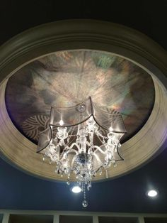 Hologram Foil Ceiling Finish | Project by Paint Inspirations