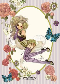 """Carnation"" by manga artist Sakizou."