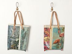 still life bags by Leslie Oschmann for Swarm