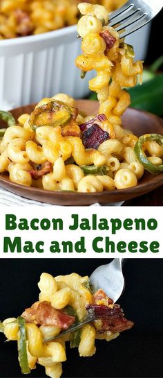 It's got bacon, that's always a good thing. It's got jalapeños, even better. And, of course, loaded with cheese and pasta! What's not to love?