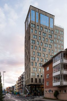 I Piteå finner du det nya norrländska designerlandmärket Kust Hotell & Spa ritat av ETTELVA arkitekter. Kristina Skoog, ägare till denna nya pärla, har lagt mycket omsorg i varenda liten detalj. Foto: Magnus Östh: Tillverkande Schüco partner Öjebyns Glas & Aluminium. Schücoprodukter: branddörrar ADS 80 FR 30, ADS 65.NI och dörrar ADS 75 HD.HI, fasad FW 50+ SG.
