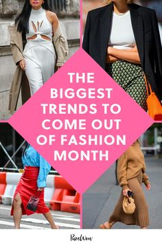 Read on to see the top 11 street style trends we saw time and time again in all the major fashion cities. #trends #fashion #streetstyle Big Fashion, Autumn Fashion, Fashion Tips, Fashion Trends, Street Style Trends, City Style, Go Shopping, Color Trends, What To Wear