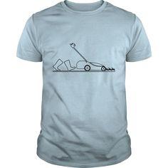 lawn mowing garden lawnmower T-Shirts - Mens Premium T-Shirt