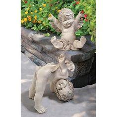 Grim Reaper Halloween, 6 Month Baby Picture Ideas, Halloween Tombstones, Animal Statues, Arte Horror, Angels In Heaven, Garden Statues, Garden Art, Whimsical
