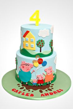 Peppa Pig - Cake by The Sweetery - by Diana