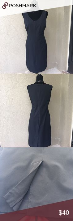 """10%⬇️Isaac Mizrahi black sheath dress Isaac Mizrahi black sheath dress- top is lined, back zipped and center back slit. Little black dress goes from office to evening to event wear in a snap!!!! Must have for every woman's closet !!  Shoulder to hem 39.5"""" - no stretch NWOT.    ✅I ship same or next day ✅Bundle for discount Isaac Mizrahi Dresses Midi"""