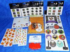 Stickers & Embellishments HALLOWEEN Scrapbook Lot Assortment  TB10