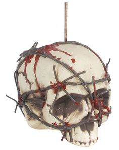 Hanging Barbed Wire Head