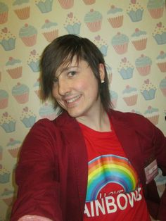 another rainbow look rainbow, rainbows, rainbow tshirt, tshirt, top, fashion, menswear, blazer jacket, red