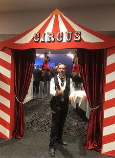 Circus Prop Hire   London Circus Props   Circus Themed Prop Hire Adult Circus Party, Vintage Circus Party, Circus Carnival Party, Circus Theme Party, Circus Wedding, Party Props, Birthday Party Themes, Scary Carnival, Scary Circus