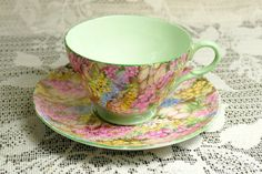 Vintage Shelley Chintz Cup and Saucer