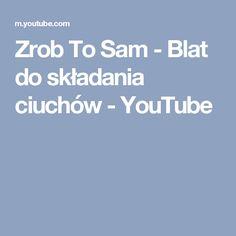 Zrob To Sam - Blat do składania ciuchów - YouTube