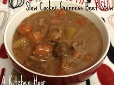 Slow Cooking Bandwagon Guinness Beef Stew  on MyRecipeMagic.com