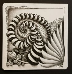 #zentangle #ispirazioni #inspiration | AKUA-ART