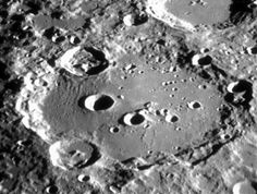 """Clavius  my favourite crater!  Image: Chabot Space & Science Center, 20"""" refracting telescope"""