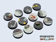 x5 FOREST FLOOR Custom Miniature Bases