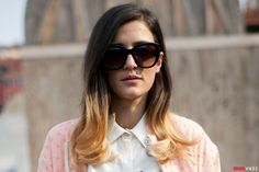 Hair and Makeup Inspiration from Fashion Month's Best Street Style Looks: http://teenv.ge/19etFcV