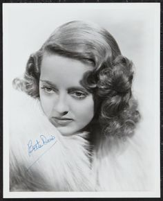 Bette Davis Movie Poster, Autograph & Memorabilia Values