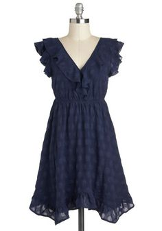 "Come on Indigo Dress, #ModCloth  Definitely a ""try it on first"" dress. And maybe not for a whopping $70..."