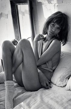 Liya Kebede photographed by Yelena Yemchuk for Vogue Italia January 2014. #Vogue