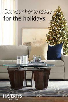 Free design services from Havertys can impress your guests by turning your house into a home just in time for the holidays. Expert styles advice and in-home consultations make it easier to pull together the perfect look to accompany your perfect season of celebration with loved ones.