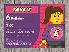 Building Blocks Birthday Party Invitation for a by aprintaffair, $14.00