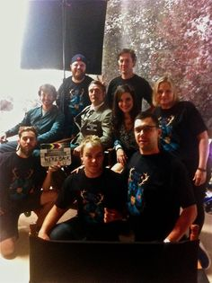Bryan Fuller posted this great pic of the Hannibal cast and crew wearing our shirt This is My Design! https://twitter.com/BryanFuller/status/382911513293361153