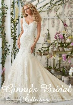 Mori Lee Bridal Wedding Dress 2814
