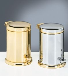 TE 37 By Decor Walter / Modern Comfort Home / Accessories / Pedal Bin / Handmade / Decoration / Home / Style / Chrom