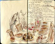 Bread recipe. (by Nik Ira)...recipe #journaling