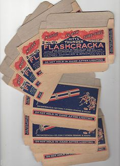 Vintage Hitts Brand Fireworks Boxes Seattle Washington 4th of July. eBay.