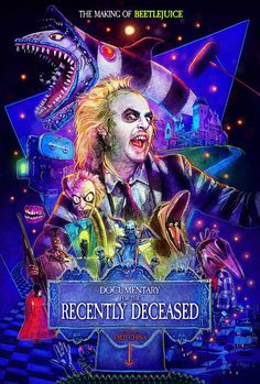 'Beetlejuice' Documentary Gets an Amazing Poster from 'Stranger Things' Artist Fan Poster, Movie Poster Art, Horror Movie Posters, Horror Movies, Cult Movies, Indie Movies, Action Movies, Arte Horror, Horror Art