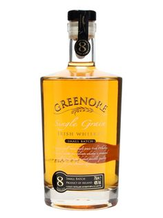 A gold medal-winner at the International Wine & Spirits Competition, this unique concoction is a 100% Single Grain Irish whiskey, from the multi-award-winning Cooley distillery in Dundalk.