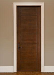 Custom Interior Mahogany Door Single Doors Double Hung For Master Siute