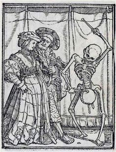 Two nobles by Hans Holbein the Younger,c. 1526