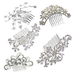 New #womens bridal wedding #jewelry #crystal rhinestone bride pearl hair comb pin,  View more on the LINK: http://www.zeppy.io/product/gb/2/381336844168/