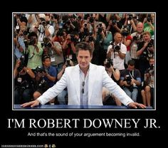 was sittin here quietly and i was like you know what i haven't repinned in a while? RDJ stuff.