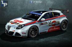 Alfa Romeo Giulietta WTCC by renxo93