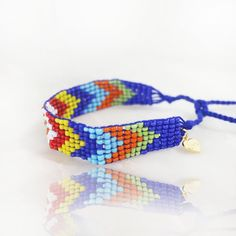 """The Boho Azure """"Love Bead"""" Bracelet designed by Jacques and Sienna Kids Jewelry, Bracelet Designs, Boho Style, Hair Clips, Headbands, Boho Fashion, Hair Accessories, Beaded Bracelets, Collections"""