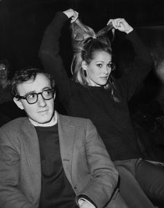 Woody Allen and Ursula Andress