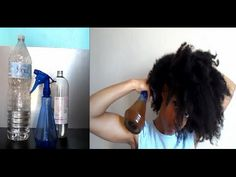 J'hydrate mes cheveux secs & crépus + recette (100% naturel)
