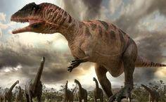 Carcharodontosaurus. BBC- Planet Dinosaur.