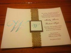 "Burlap Ribbon Stitched 1"" wide, 15 Yards Wedding Decor Home Decor. $17.00, via Etsy."