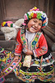 Girl from Cusco, Perú