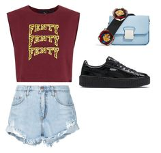 """Untitled #27"" by afivahapriani on Polyvore featuring Nobody Denim and Puma"