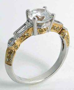 35cts Vintage Style Semi Mount Engagement Ring 18K White Gold Style SM946YD | eBay http://www.ebay.com/itm/35cts-Vintage-Style-Semi-Mount-Engagement-Ring-18k-White-Gold-Style-SM946YD-/310805968854?&_trksid=p2056016.l4276 2400:-