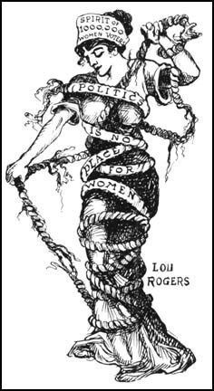 Suffragette artist Lou Rogers was a contemporary of Harry G Peter, Wonder Woman's original artist