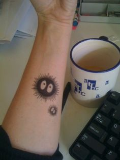 Soot sprite tattoo! How perfect!