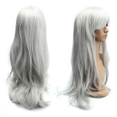 SHARE & Get it FREE | Long Side Bang Slightly Curled Cosplay Parrucca Piena Synthetic WigFor Fashion Lovers only:80,000+ Items • New Arrivals Daily • Affordable Casual to Chic for Every Occasion Join Sammydress: Get YOUR $50 NOW!